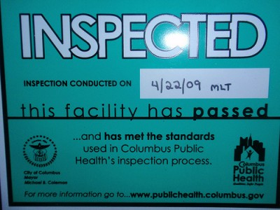health inspection
