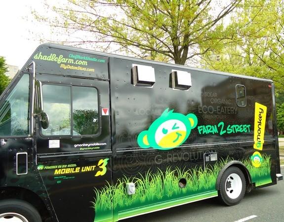 Gmonkey food truck owners plan branford vegan restaurant for Best food truck designs