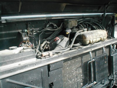 food truck engine compartment