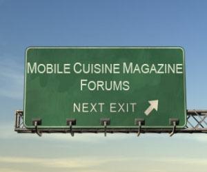 Mobile Cuisine Forums