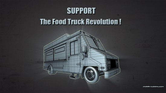 Download Our Free Food Truck Revolution Wallpaper