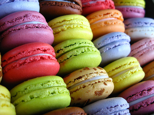 macaroonsFrench Macaroons Wallpaper