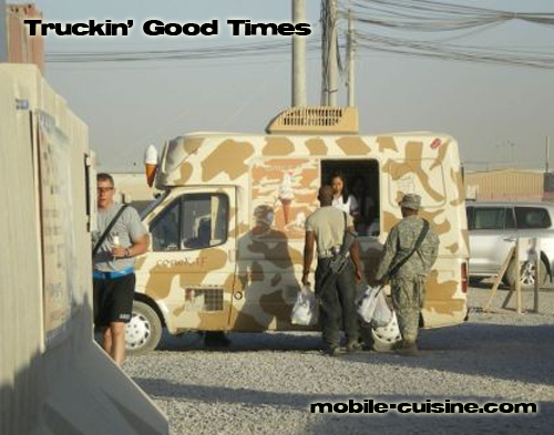 military food truck