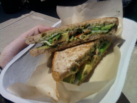Food Farm Avocado Melt