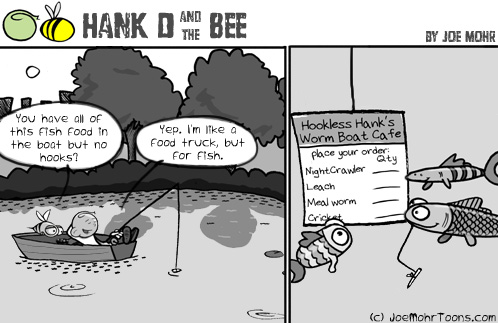 Hank and the Bee - Food Truck