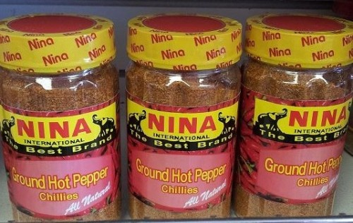 Nina International Ground Hot Pepper