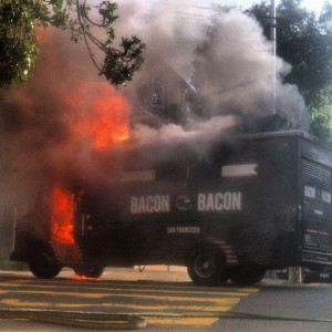 bacon bacon fire