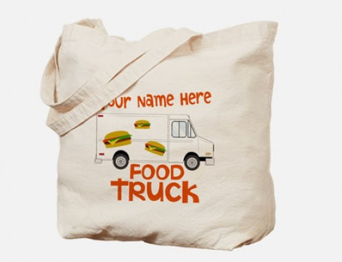 Green Food Truck Marketing with Reusable Bags