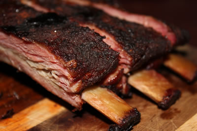 smoked ribs