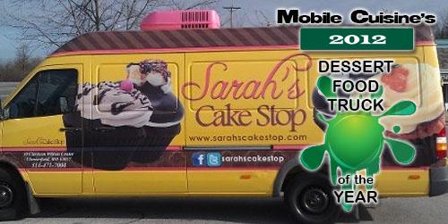 2012 Dessert Truck Sarah's Cake Stop