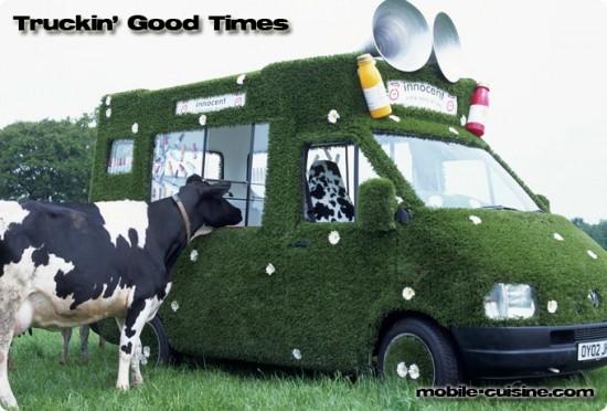 Green Truck Moo