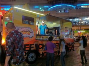 Shawarma Bros truck Philipines