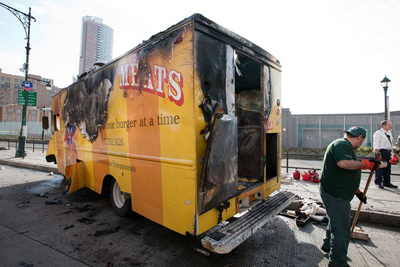 Food Truck Fire