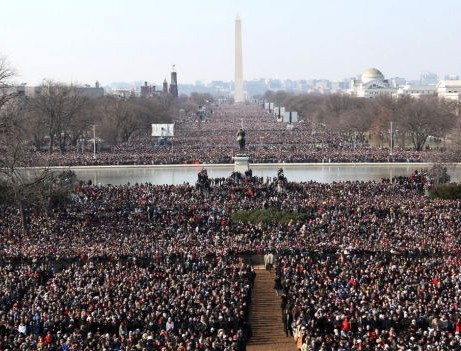 2009 inauguration crowd