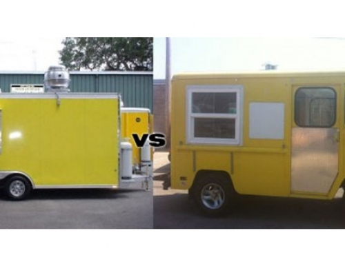 Differences Between Insuring Food Trailers and Food Trucks