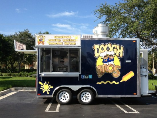 dough bros food truck