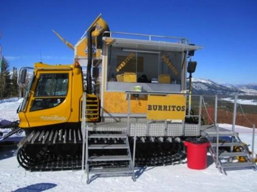 snow food truck
