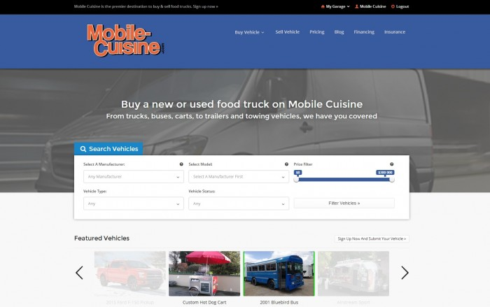 Selling Your Food Truck Online