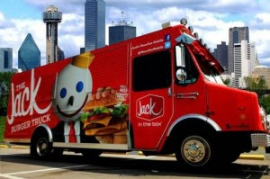Jack in the Box Food Truck Dallas