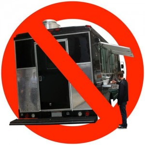 america's cup bans food trucks