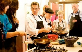 offer cooking classes