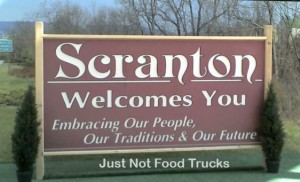 Scranton Food Truck Sign