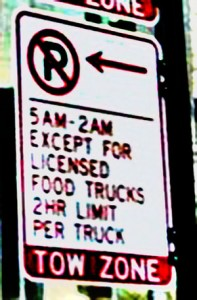 chicago-food-truck parking sign large