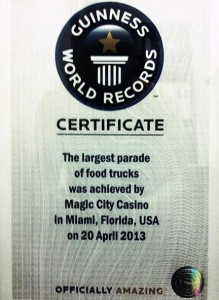 food truck Guinness Record