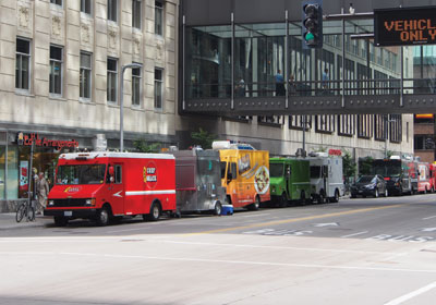 Skyway Food-Trucks Minneapolis