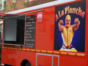 A La Plancha Food Truck Minneapolis