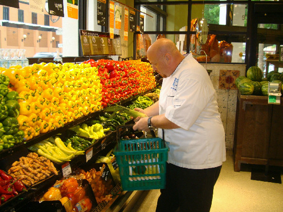 Chef Produce Shopping