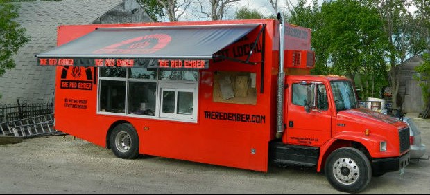 Developing food truck awning designs that work for Food truck blueprint