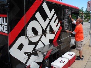 Roll MKE food truck Milwaukee