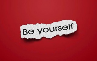 be yourself when speaking
