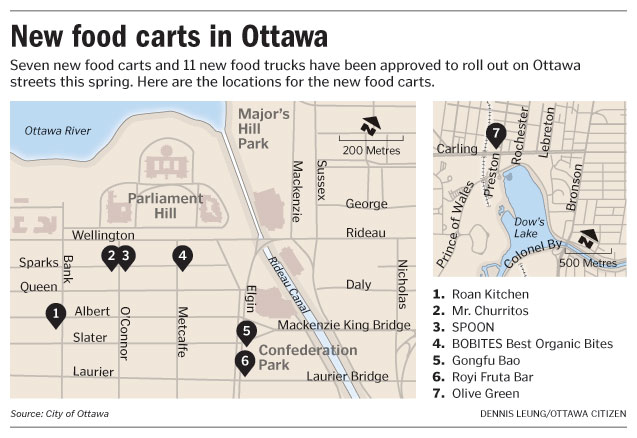 ottawa food cart locations