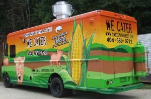 Sweet Auburn BBQ food truck