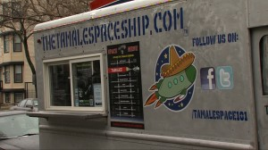 Tamale-Spaceship chicago food truck