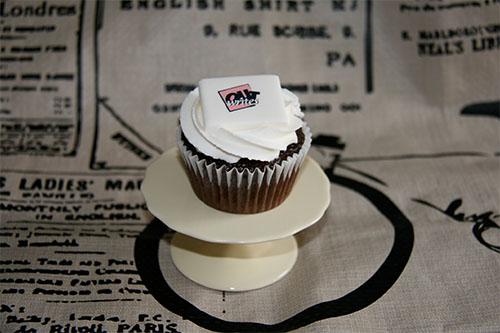 edible paper cupcake