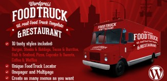 food truck wordpress themes