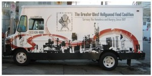 Greater Hollywood Food Coalition food truck