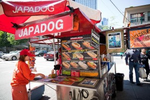 Japadog Vancouver food cart