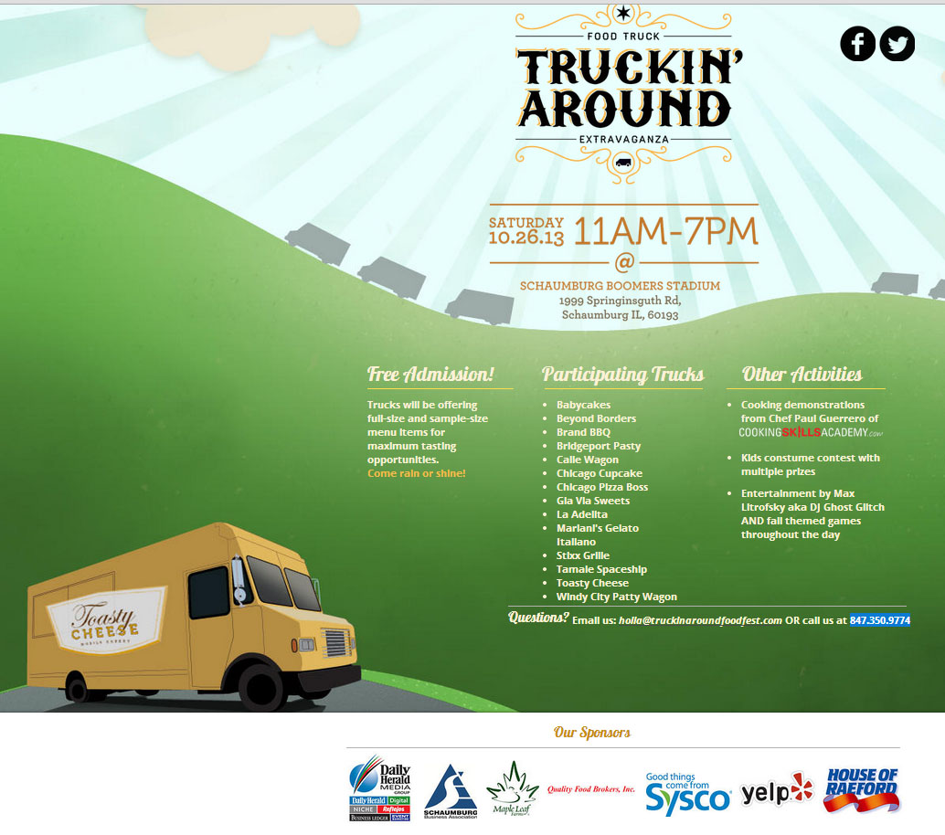 Truckin' Around - Food Truck Extravaganza