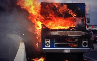 food truck kitchen fires