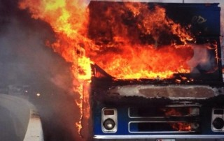 food truck kitchen fires