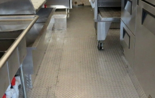 food truck floor