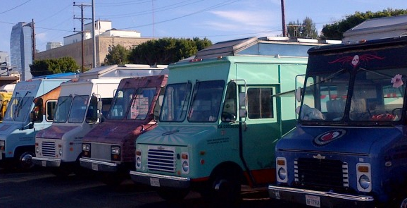 storing food trucks