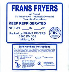 Frans Fryers Recall