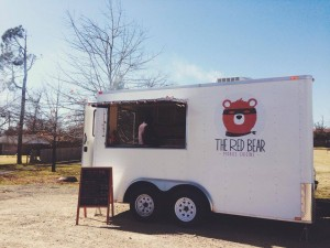 The Red Bear Food Truck Paris