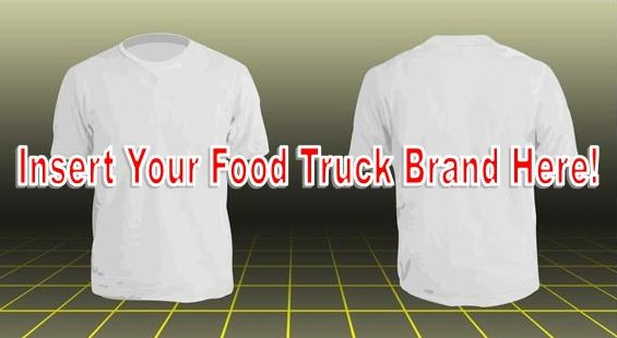 food truck tshirt marketing