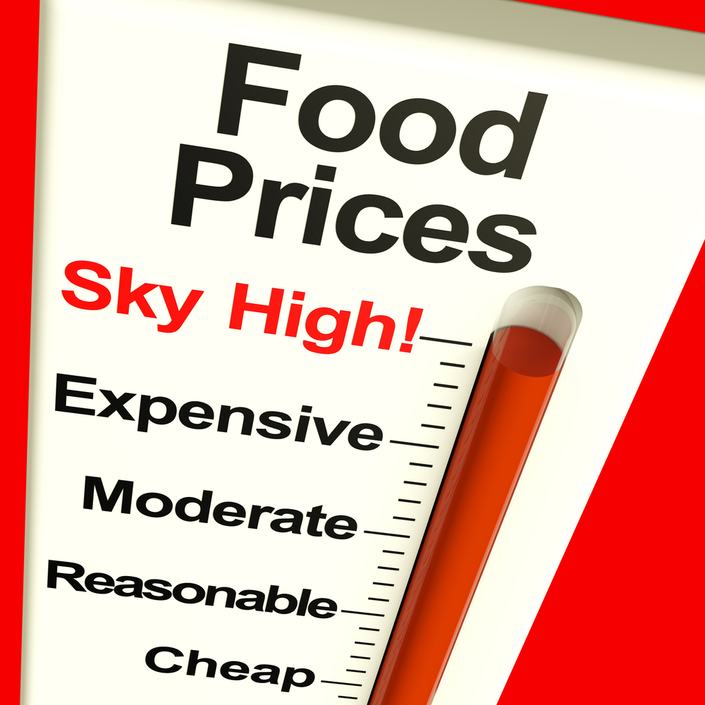 food trucks can expect food prices to rise faster in 2014